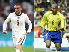 Euro 2020: Brazil great Roberto Carlos a fan of in-form England left-back Luke Shaw