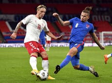5 of the most notable past meetings between England and Denmark