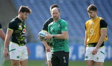Mike Catt challenges Ireland rookies to prove they belong at international level