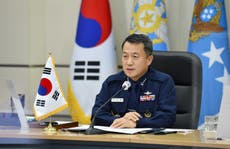 South Korea general arrested for sexual assault of female colleague
