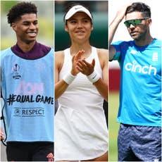 Rashford soutient Raducanu et Anderson veut un appel – le social sportif de mardi