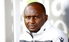 Patrick Vieira: New Crystal Palace manager confident he is right man during 'crucial period'