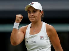 Ashleigh Barty makes difficult look easy to reach Wimbledon semi-finals