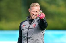Kasper Schmeichel asks if football has ever been home ahead of Euro 2020 semi
