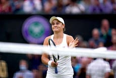 Ashleigh Barty primed for Wimbledon title tilt after ruthless last-eight display