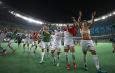 Denmark look to 'take advantage of the expectation' on England at Wembley
