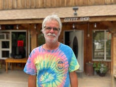 'It's been a brutal year': Local cafe owner puts aside personal tragedy to feed firefighters