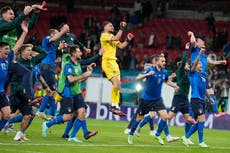 Euro 2020 matchday 26: Italy head to final after tense shootout win over Spain