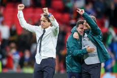 Delighted Roberto Mancini urges Italy to rest up for final push