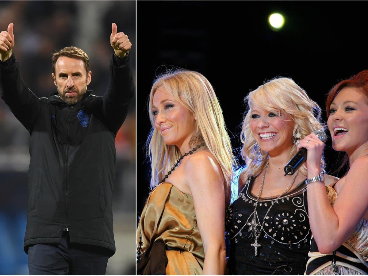 Atomic Kitten fans react to Gareth Southgate remix 'Football's Coming Home Again'