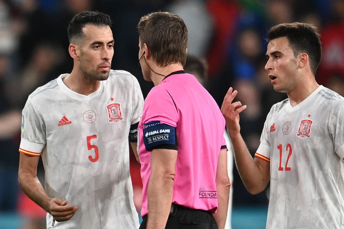'We were superior to them': Spain's Sergio Busquets says the best team lost in Euro 2020 semi-final defeat to Italy