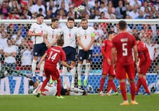 England vs Denmark LIVE: Euro 2020 latest score and goal updates from semi-final tonight