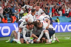 England into Euro 2020 final after extra-time win over Denmark