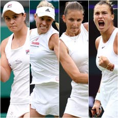 Wimbledon-dag 11: Women's semi-finals take centre stage