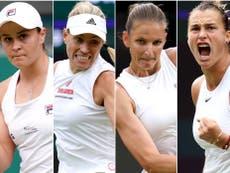 Wimbledon day 11: Women's semi-finals take centre stage