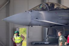 Fighter jets scramble, interrupt leaders in Lithuania