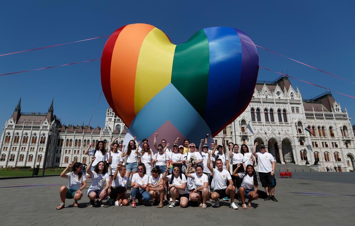 Hungary activists vow to resist LGBT law, symbol of EU rift