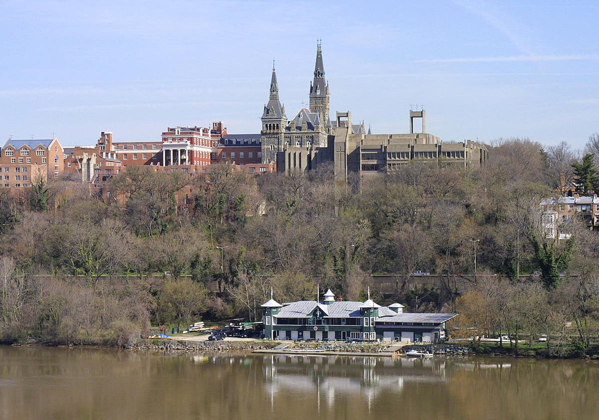 Georgetown University evacuates 40 students from residence hall