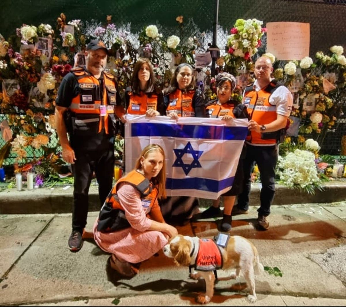 Therapy dogs for first responders and teams flown in from Israel: Inside the Miami condo recovery operation