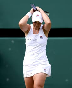 Top seed Ashleigh Barty's path to her first Wimbledon singles final