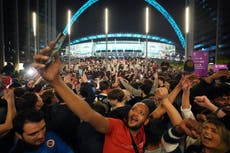 It's coming home! There's only one story in town for Thursday's sporting social
