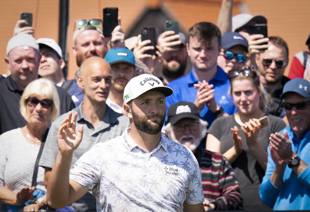 Jon Rahm admits ego got in the way for his opening tee shot at Scottish Open