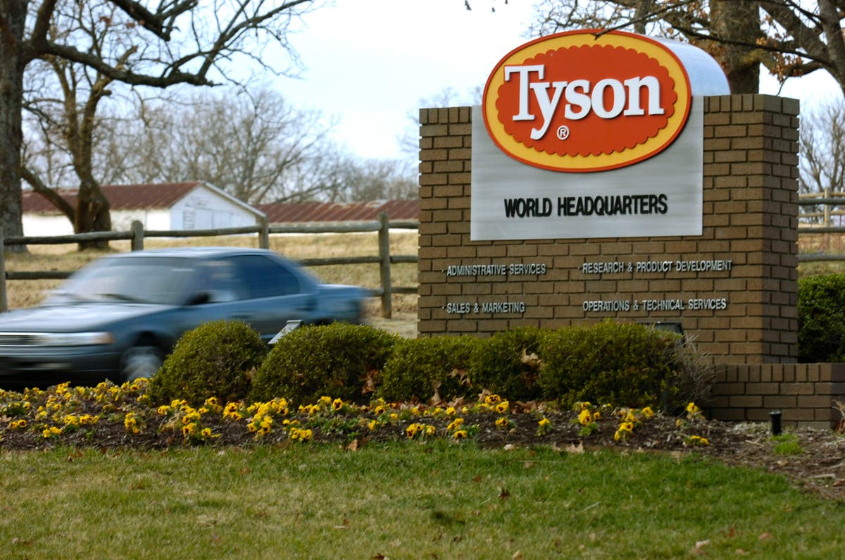 Tyson Foods recalls almost 4,500 tons of chicken products