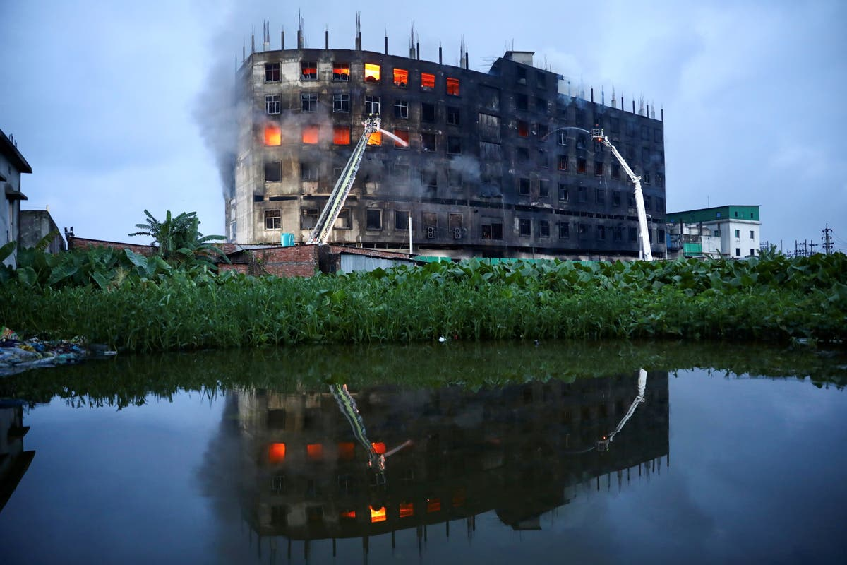 Bangladesh factory fire death toll rises to 52 as police open investigation