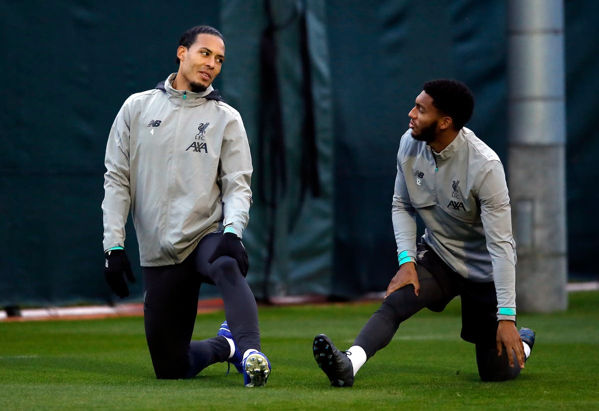 Virgil Van Dijk and Joe Gomez join Liverpool squad for Austria training camp