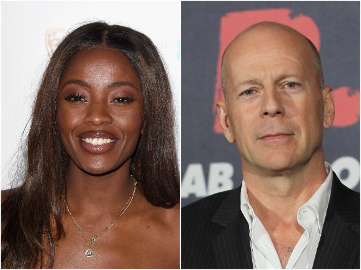 TV presenter AJ Odudu criticises Bruce Willis for 'appalling' behaviour during interview