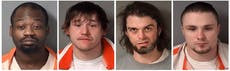 Officials: 3 av 4 inmates caught after Illinois jail escape