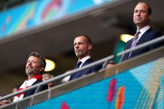 Uefa president does not see a repeat of Euro 2020 finals format