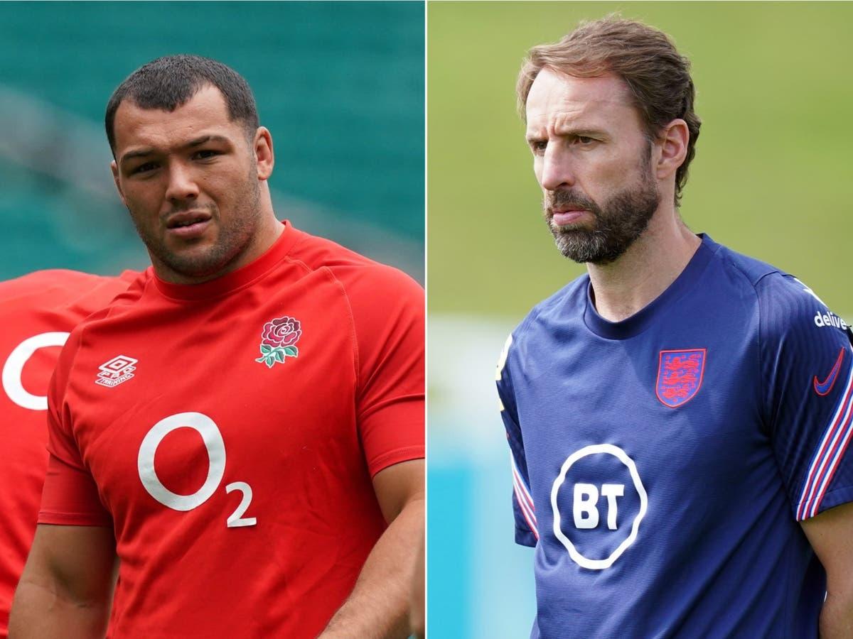 Rugby prop Ellis Genge hails Gareth Southgate's 'new generation' man management