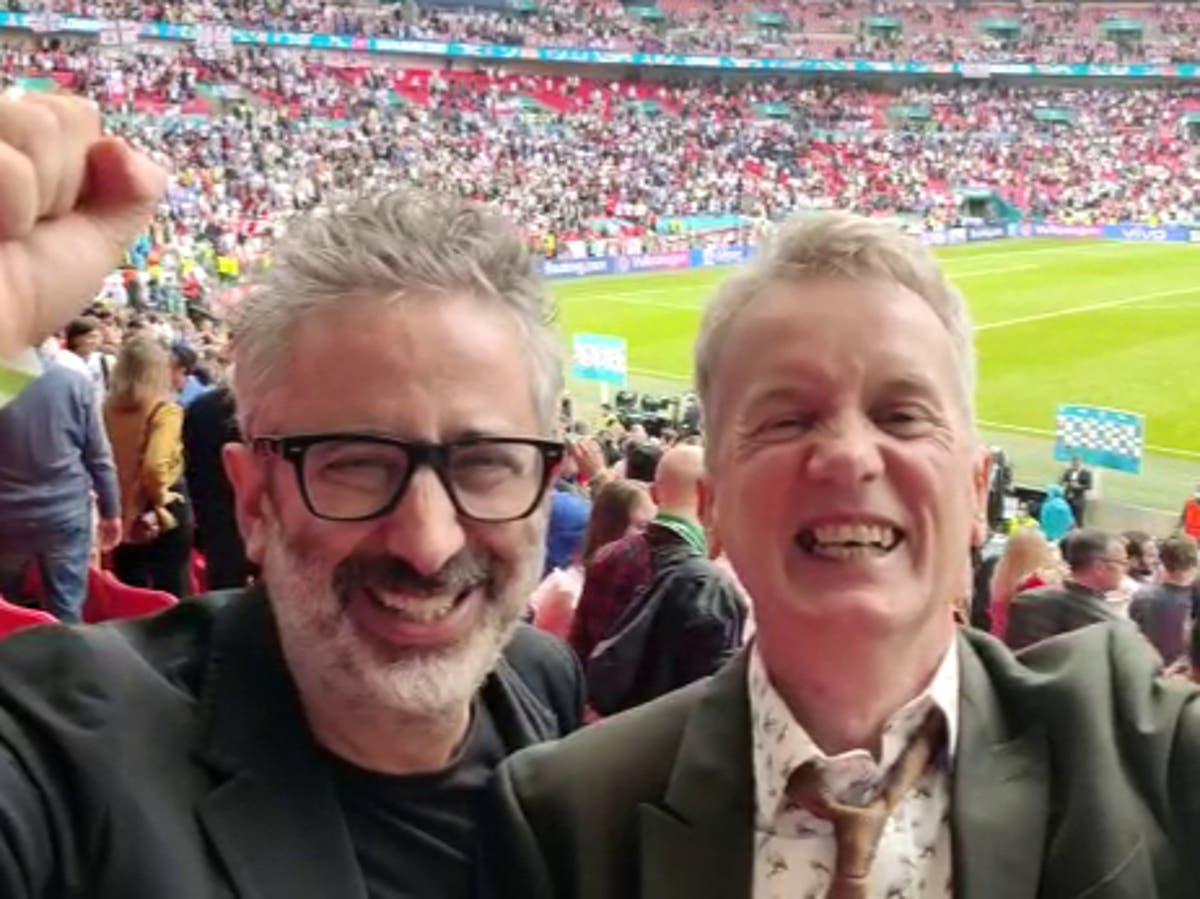 Frank Skinner, David Baddiel and Ian Broudie to perform 'Three Lions' on TV