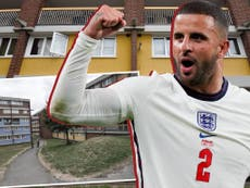 'Just what England should be': inner city estate where Kyle Walker grew up buzzing ahead of Euro 2020 final