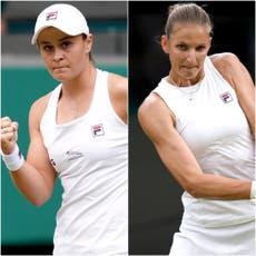 Wimbledon day 13: Ashleigh Barty takes on Karolina Pliskova in women's final