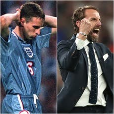25 years after Euro 96 semi loss to Germany, where are England's players now?