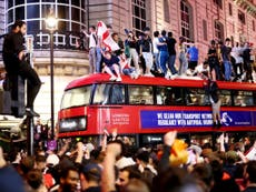 Police warn ticketless England fans not to travel to London for Euro 2020 final