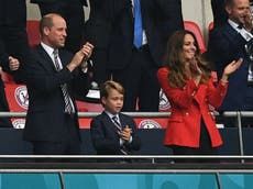 Boy, 7, writes letter asking Prince William for Kate's ticket to the Euro 2020 final