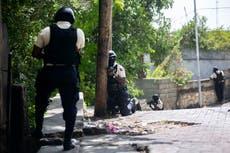 Hospitalized wife of slain Haitian leader denounces enemies