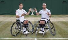 Wimbledon 2021: Seventh heaven for doubles duo Alfie Hewett and Gordon Reid