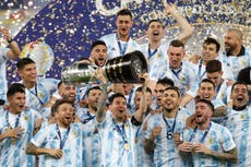 Argentina win Copa America to end Lionel Messi's long wait for major title