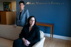 For top #MeToo legal duo, a pandemic year brings no pause