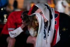 Fans go from euphoria to despair as England falls short