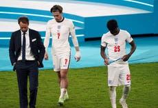 ユーロ 2020 試合の日 31: イングランドはウェンブリーでイタリアに落ちる