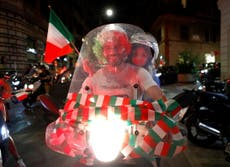 It came Rome: Italy erupts in celebration after dramatic Euro 2020 success