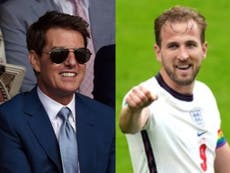 Tom Cruise FaceTimed England team ahead of Euro final against Italy, reveals Harry Kane