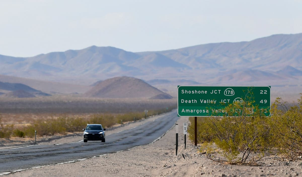 Death Valley sizzles in hottest 24 hours on record