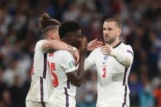 England squad supporting 'devastated' Bukayo Saka, Luke Shaw insists