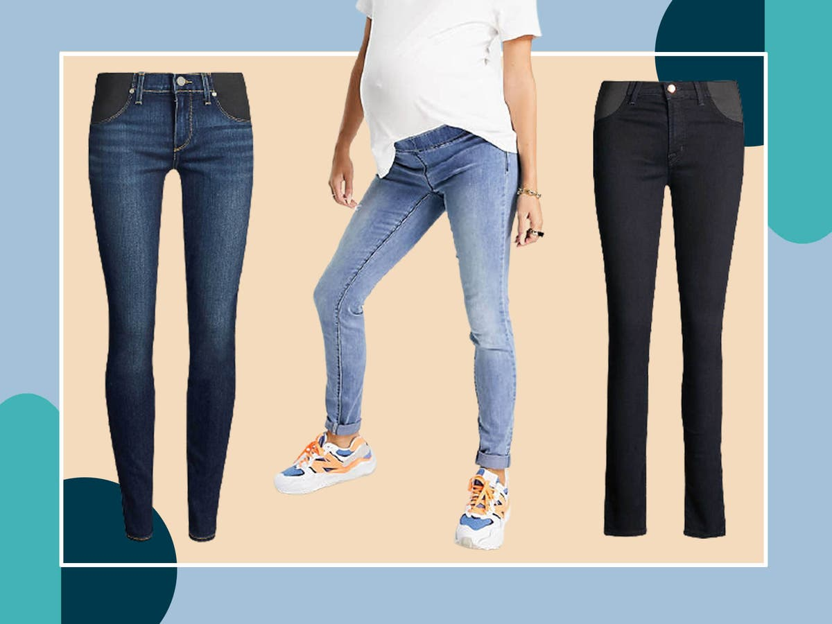 Maternity jeans that are stylish, comfortable and supportive